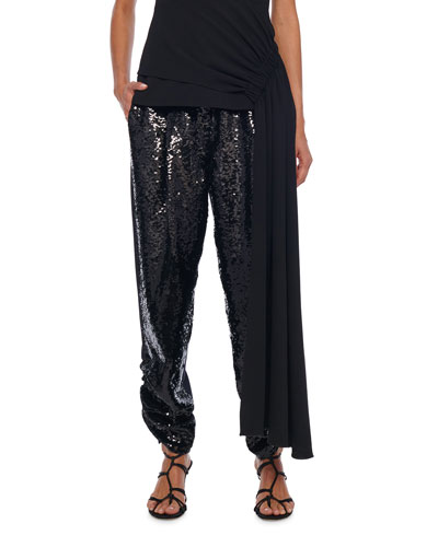 Sequined Lounge Pants