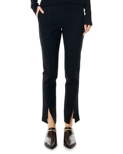 Anson Stretch Tailored Ankle Leggings