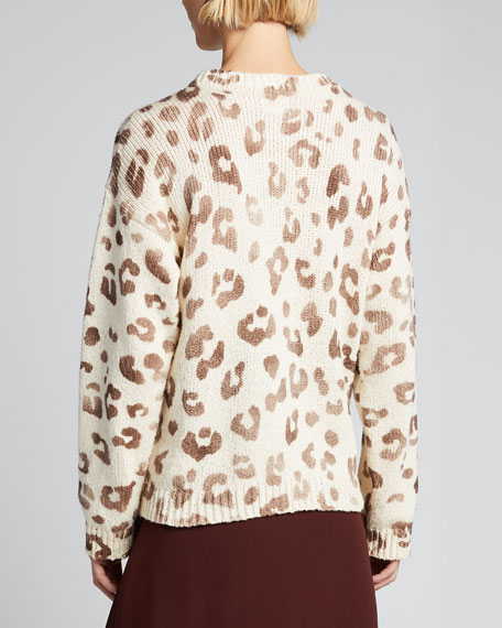 The Jumper Leopard-Print Sweater