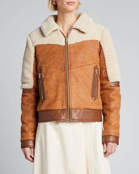 The Trapper Keeper Sherpa-Trim Jacket