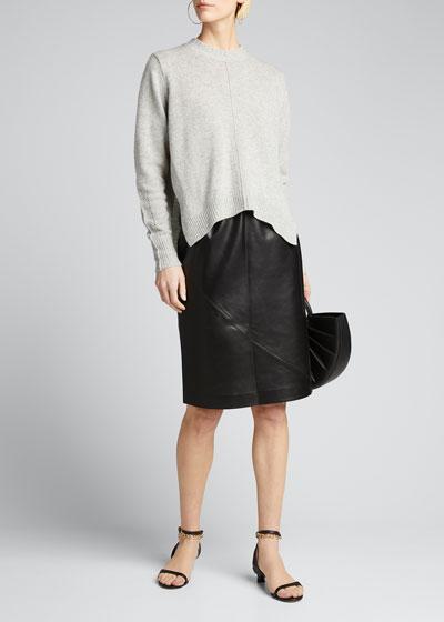Leather Slip Skirt