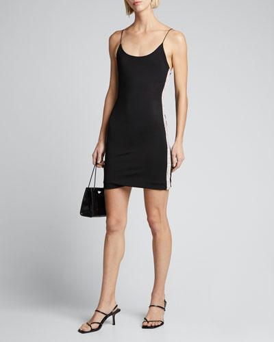 Noni Embellished Spaghetti-Strap Mini Dress