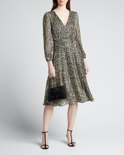 Coco V-Neck Midi Dress