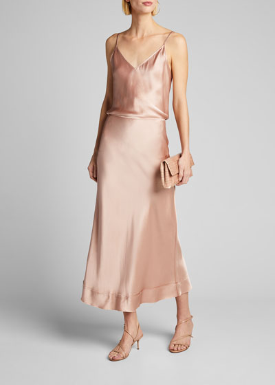 Stella Satin Skirt