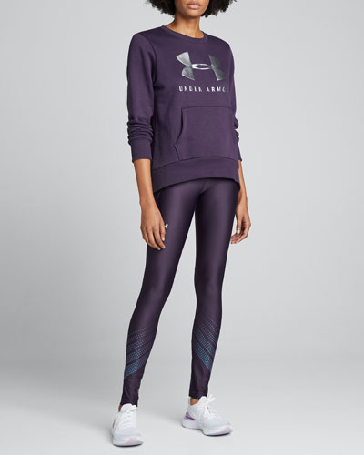 Rival Fleece Sportstyle Graphic Sweatshirt  Purple