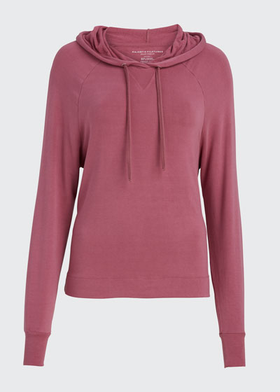 French-Terry Pullover Hoodie