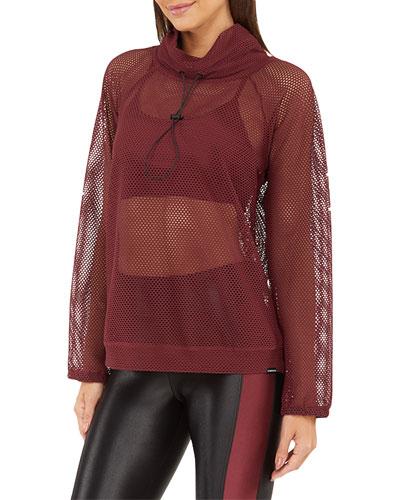 Probe Open Mesh Pullover