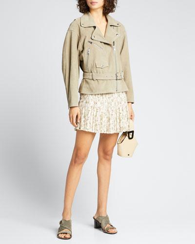 Alba Pleated Mini Skirt