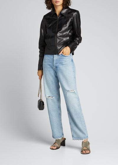 90s Distressed Boyfriend Jeans
