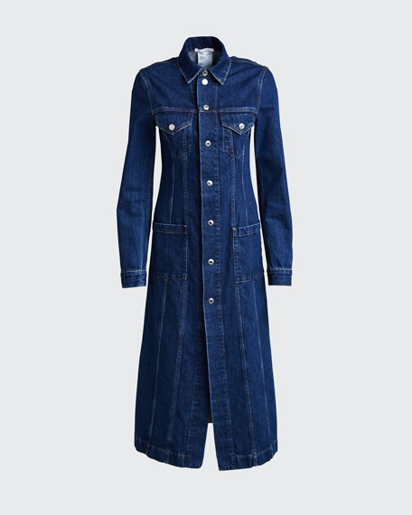 Fem Trucker Long Coat