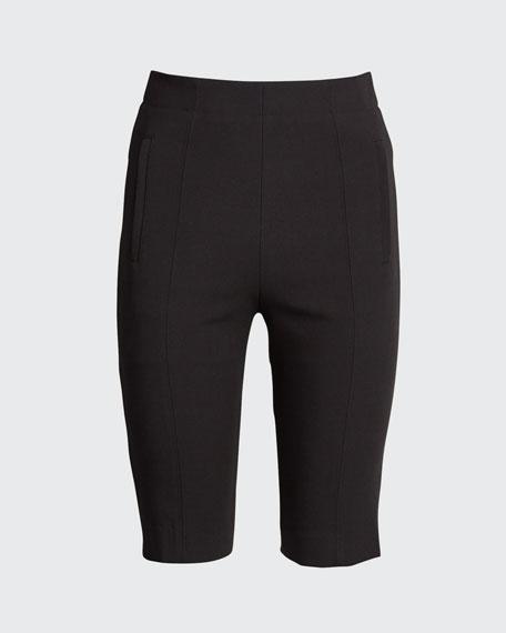 Anson Stretch High-Waist Biker Shorts