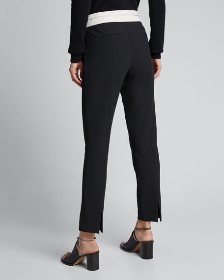 Anson Stretch Pants with Inside-Out Waistband