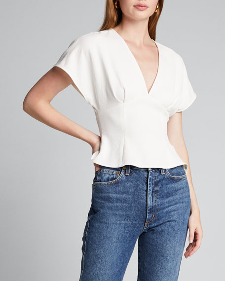 Peak Fitted Dolman-Sleeve Top
