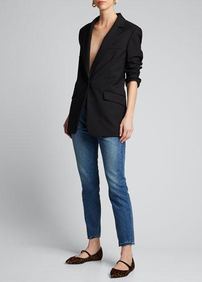 Karolina Petite Straight-Leg Jeans