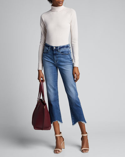 Austin Cropped High-Rise Jeans