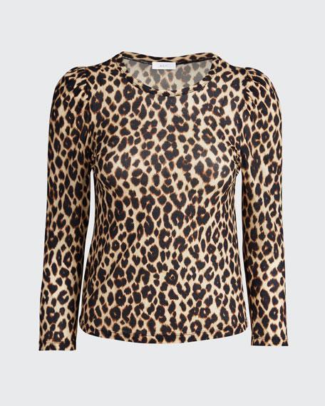 Karlie Leopard-Print Tee
