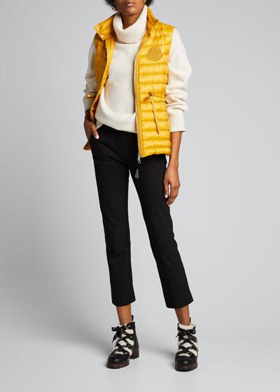 Azur Adjustable Puffer Vest