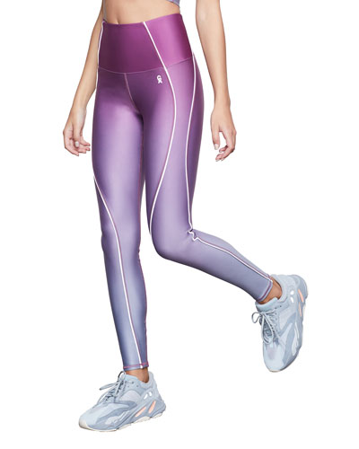 Ombre Contour Active Leggings - Inclusive Sizing