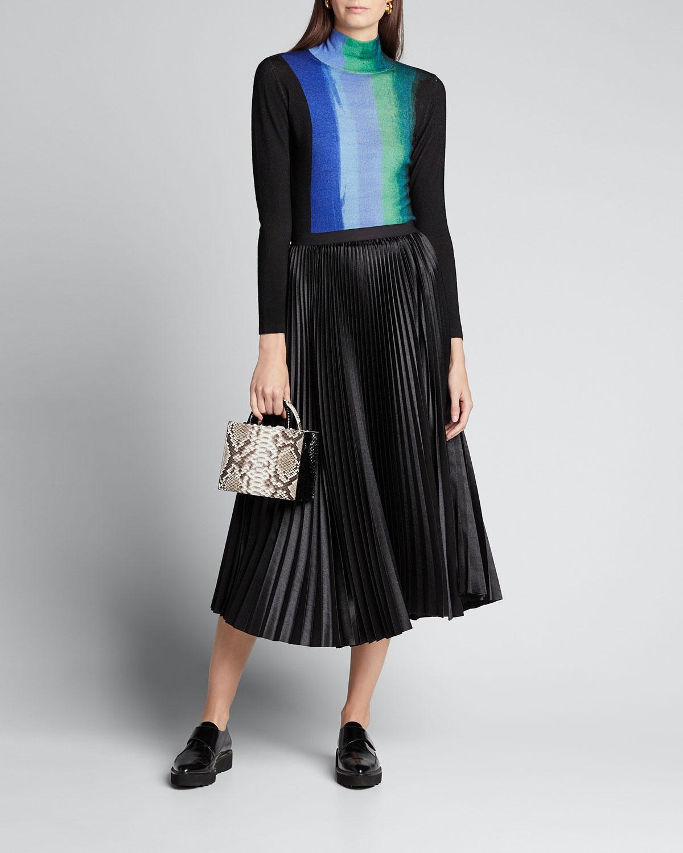 Diane Von Furstenberg Tops Brandy Wool Turtleneck Sweater