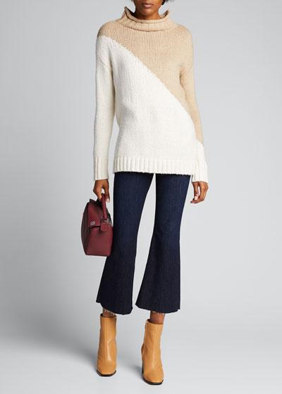 Bardot Crop Flare Jeans