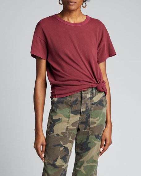 The Boxy Crewneck T-Shirt