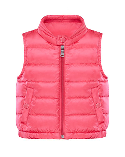 Girl's Amaury Quilted Vest  Size 9M-3