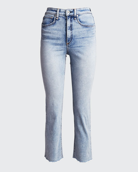 Jane Super High-Rise Ankle Cigarette Jeans
