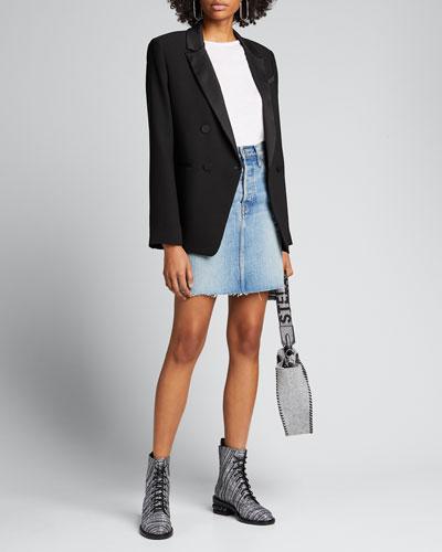 80s Denim Pencil Skirt
