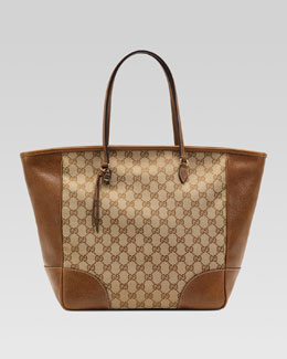 Gucci Bree Original GG Canvas Tote, Brown