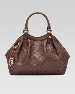 Gucci Sukey Medium Tote Bag, Mauve