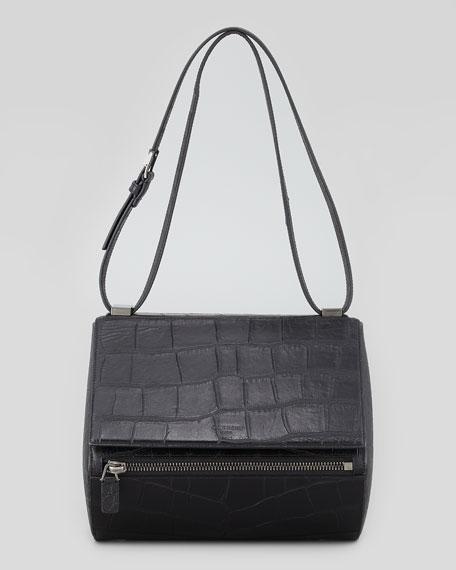44b1c2000d0 Givenchy Pandora Medium Crocodile-Stamped Box Bag