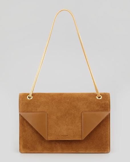 Saint Laurent Betty 2 Medium Suede Chain Shoulder Bag 2a58267c52f0b