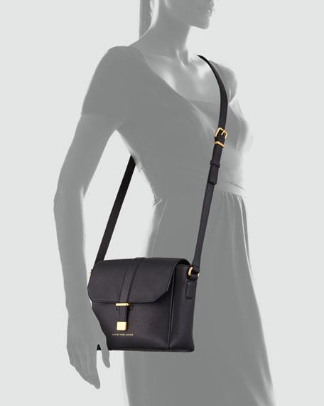 Natural Selection Mini Messenger Bag, Black