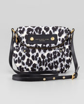 MARC by Marc Jacobs Preppy Nylon Natasha Leopard-Print Mini Bag