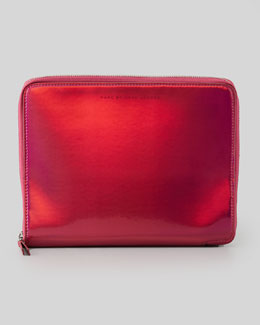 MARC by Marc Jacobs Techno Tablet Zip Case, Red/Pink
