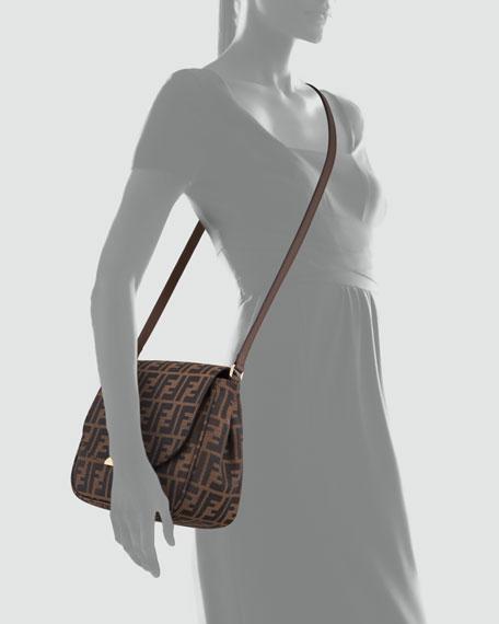 6fb9e303114e Fendi Zucca Small Crossbody Bag