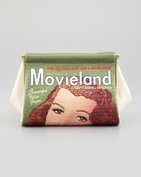 Movieland Magazine Clutch Bag