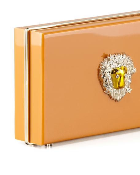 Pandora Leo Zodiac Clutch, Orange