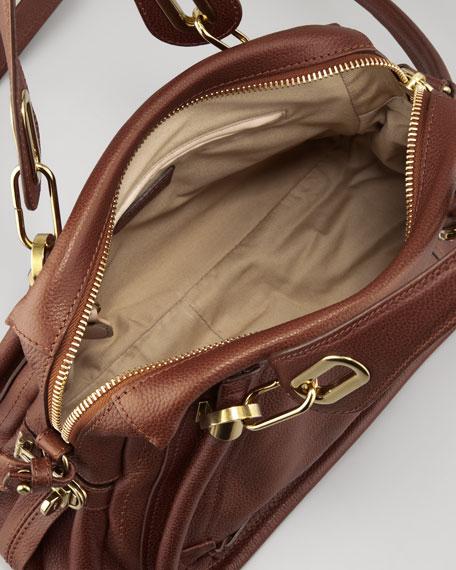 Paraty Medium Shoulder Bag, Brown