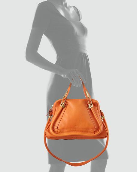 Paraty Medium Shoulder Bag, Orange