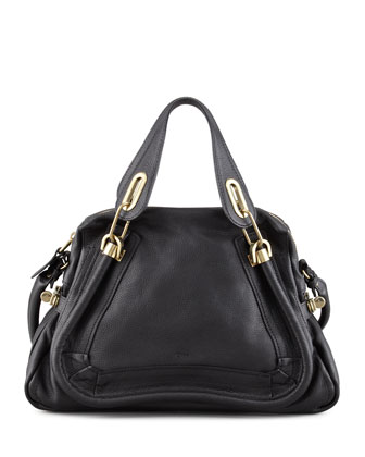 Paraty Medium Shopper Bag, Black