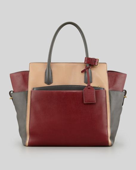 Atlantique Soft Tote Bag, Auburn/Almond