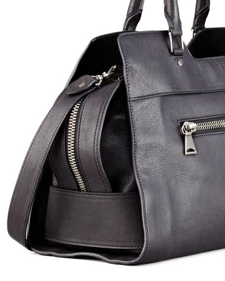 PS13 Small Shoulder Bag, Black