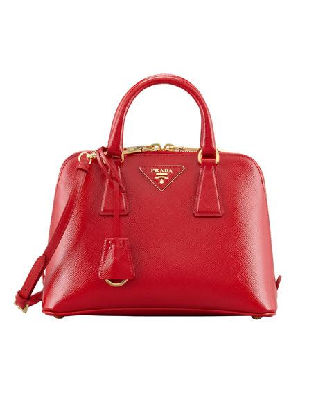 f0f851ba6c ... good prada small saffiano promenade bag red rosso 3ac69 3dc9b