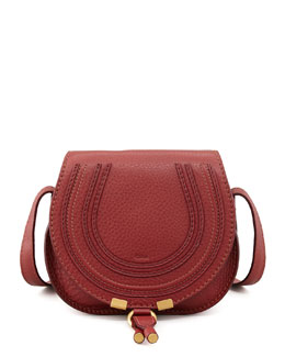 Chloe Marcie Small Satchel Bag, Red