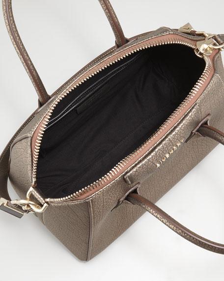 9514e3b327 Givenchy Antigona Small Metallic Leather Satchel Bag