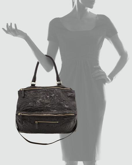 Pandora Pepe Large Leather Bag, Black