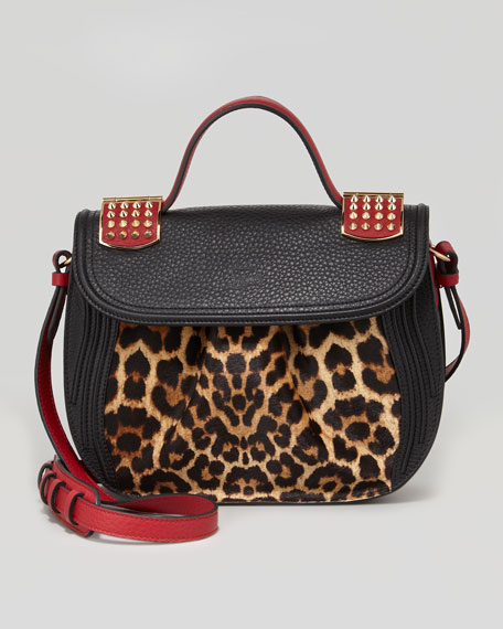Dompteuse Messenger Bag, Leopard