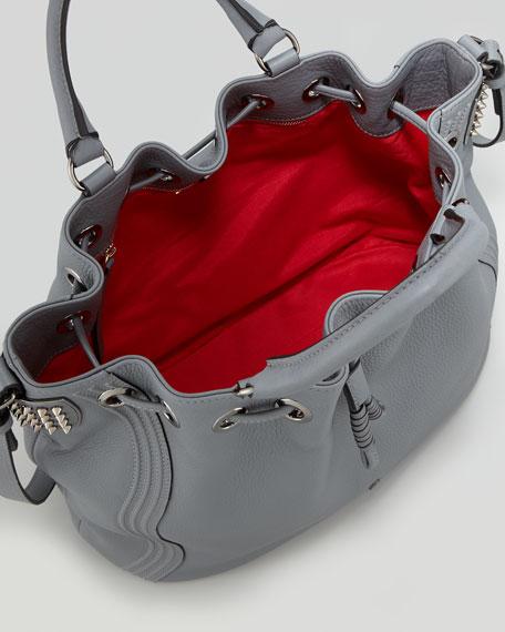 Dompteuse Spike Bucket Bag, Gray