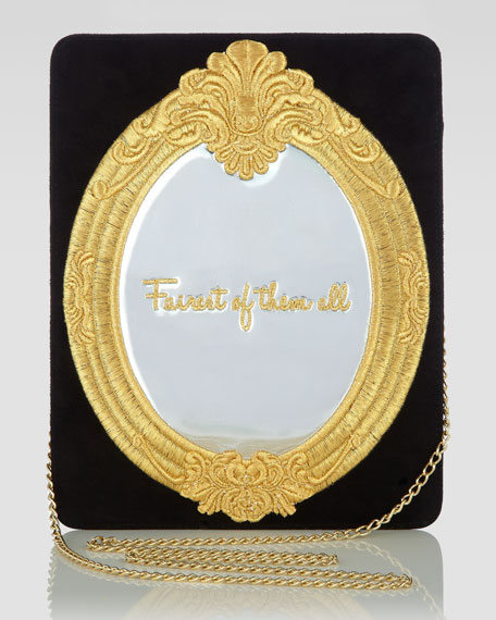 Magic Mirror Bag, Black/Gold